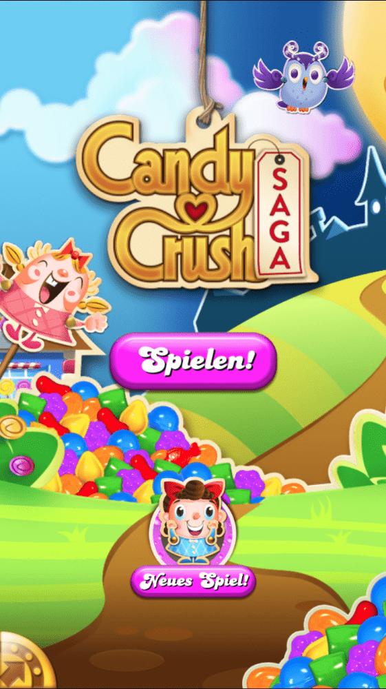 Candycrush Saga Titel
