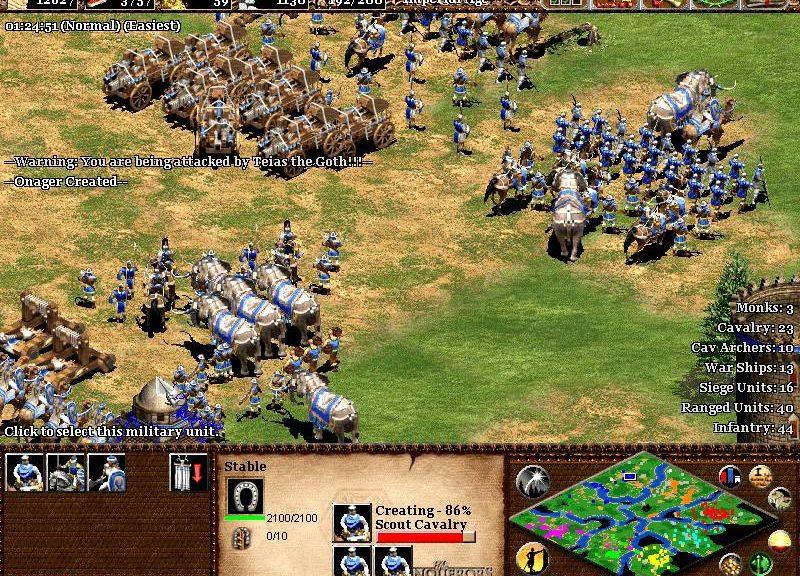 Age of Empires The Conquerors Screenshot4