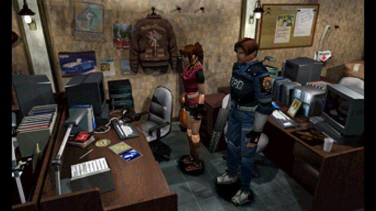 Resident Evil 2 Claire und Leon