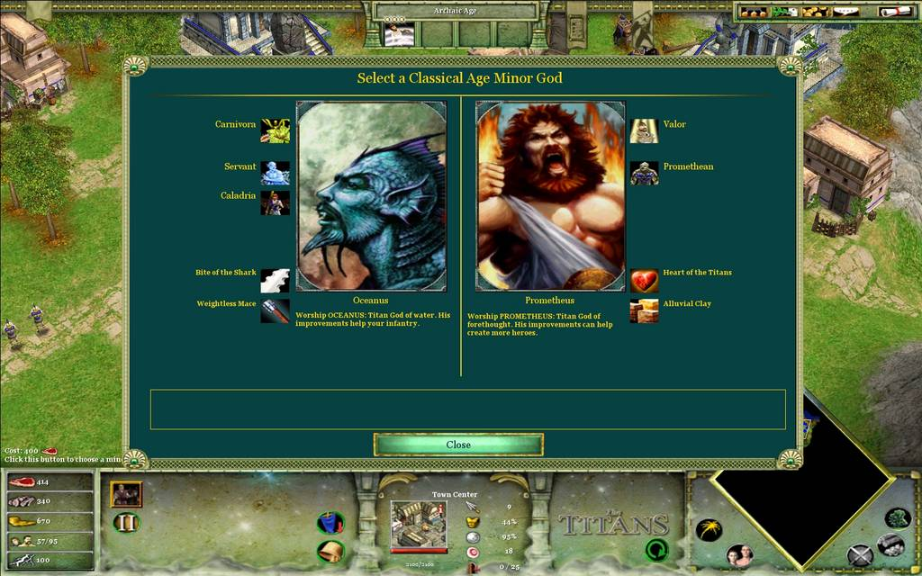 Age of Mythology Götter