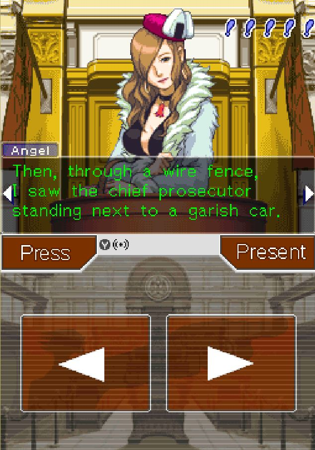 Ace Attorney - Rise of Phoenix Screenshot3