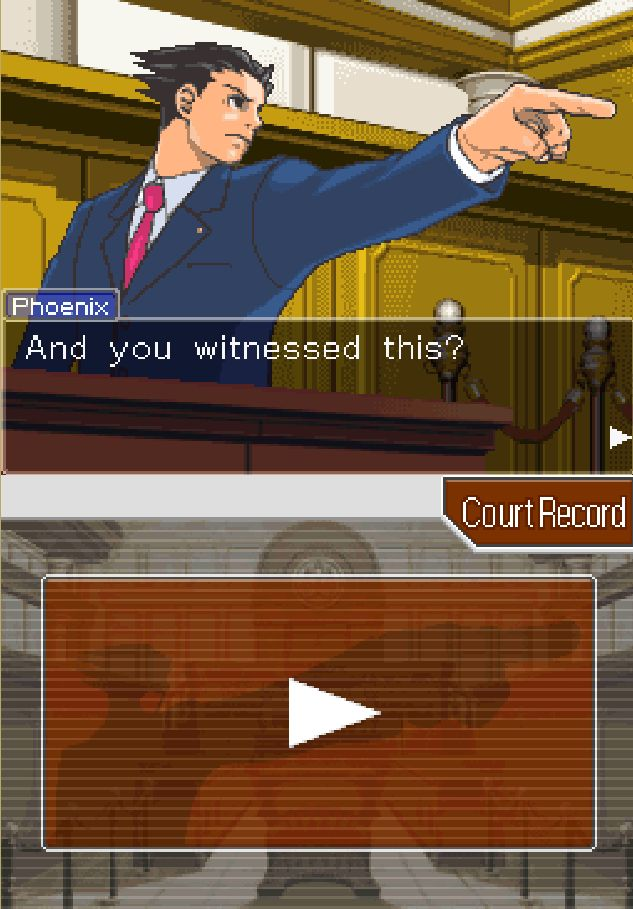 Ace Attorney - Rise of Phoenix Screenshot4