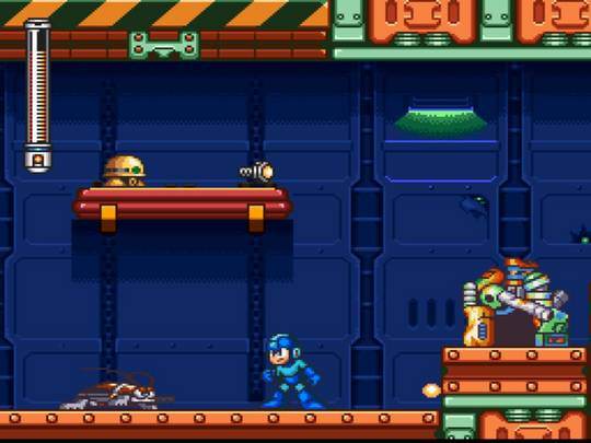 Mega Man 7 Screenshot