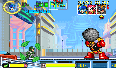 Mega Man Power Battle