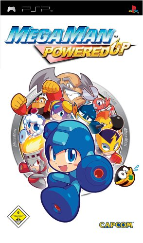 Mega Man Powered Up Cover
