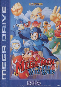 Mega Man - The Wily Wars - Cover