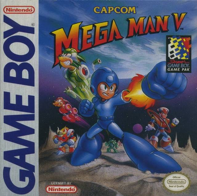 Mega Man V Cover
