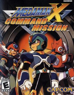 Mega Man X Command Mission Cover