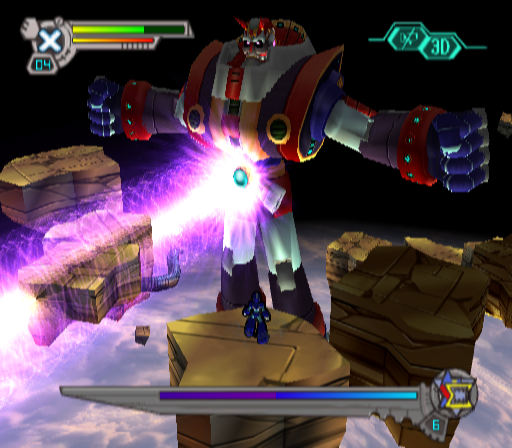 Mega Man X7 Screenshot2
