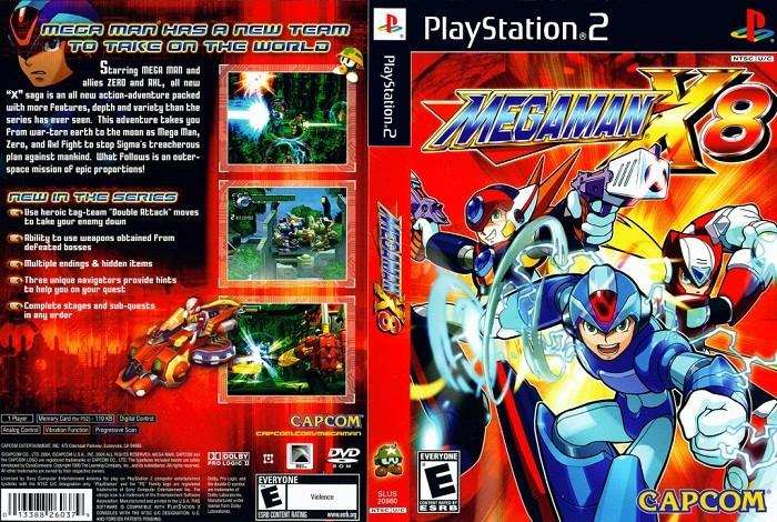 Mega Man X8 Cover