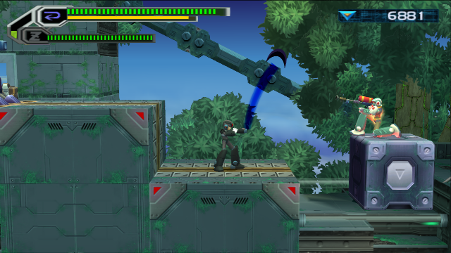 Mega Man X8 Screenshot
