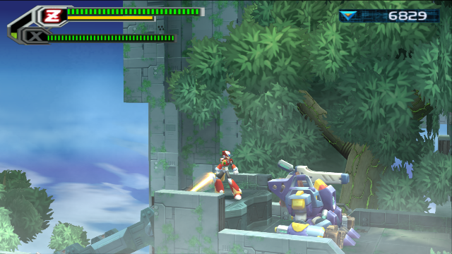Mega Man X8 Screenshot2