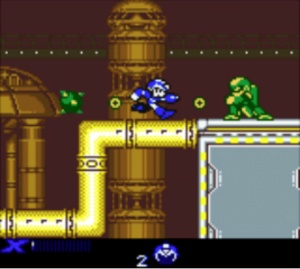 MegaManXtreme2 Screenshot