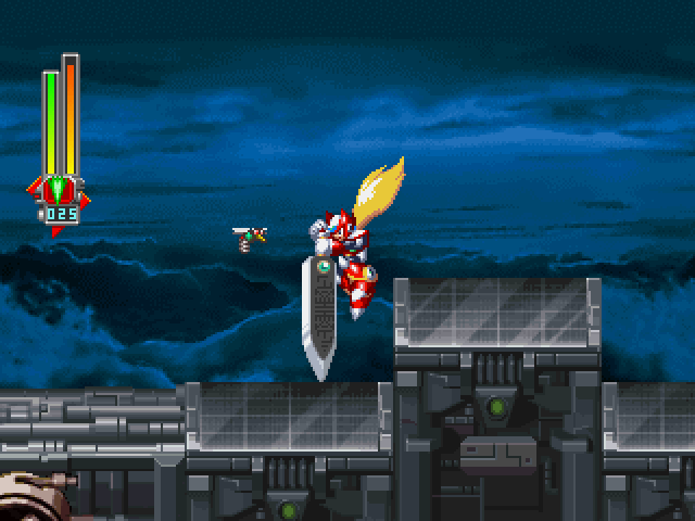 MegaMan X6 Screenshot