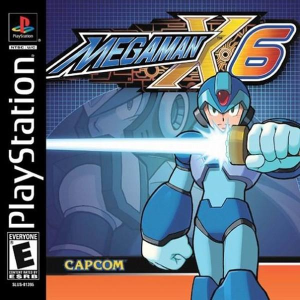 MegaMan X6 Cover