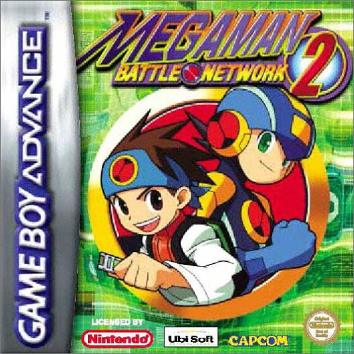 Mega Man Battle Network 2 Cover