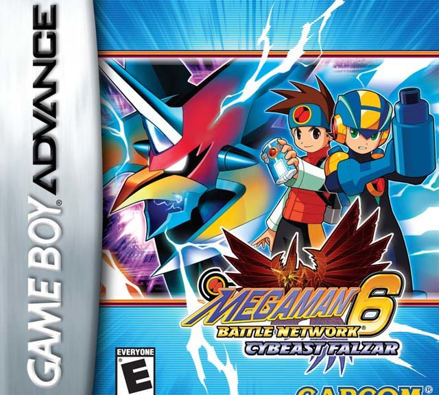 Mega Man Battle Network Cover Cybeast Falzar
