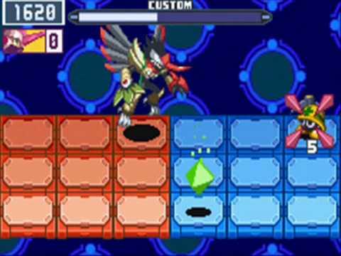 Mega Man Battle Network 6 Cover Cybeast Falzar Screenshot2