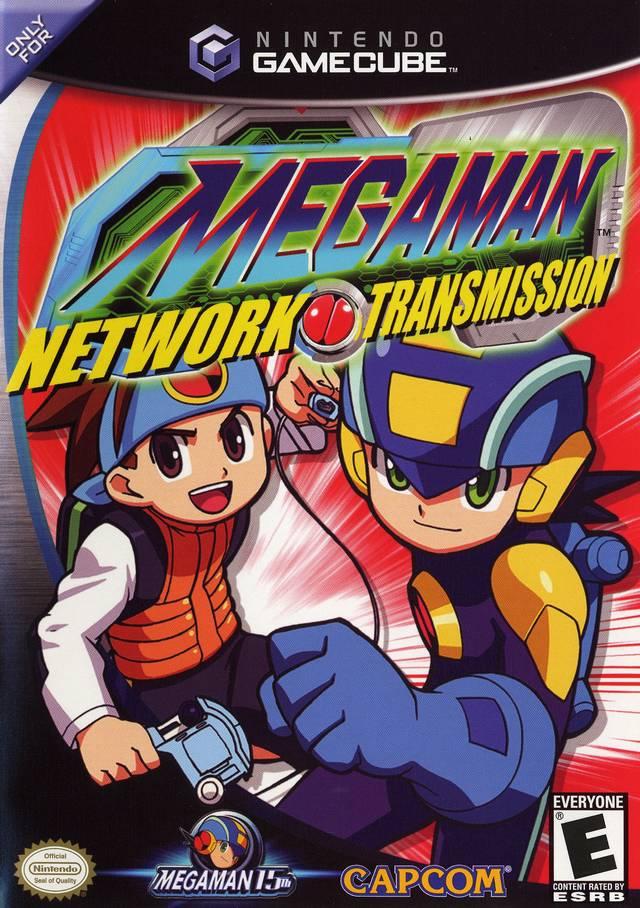 descargar megaman network transmission gamecube den