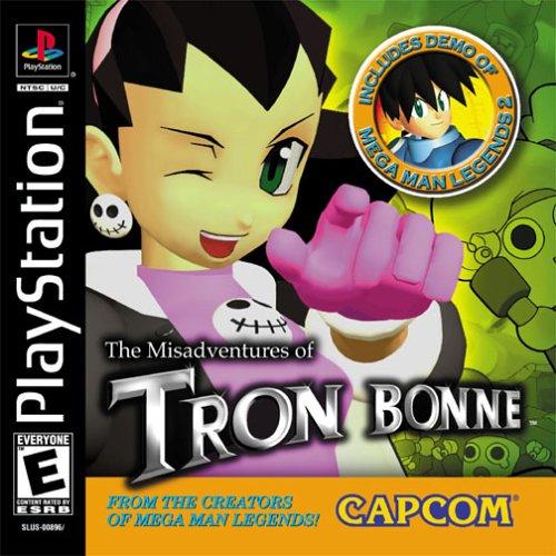 Misadventures of Tron Bonne Cover