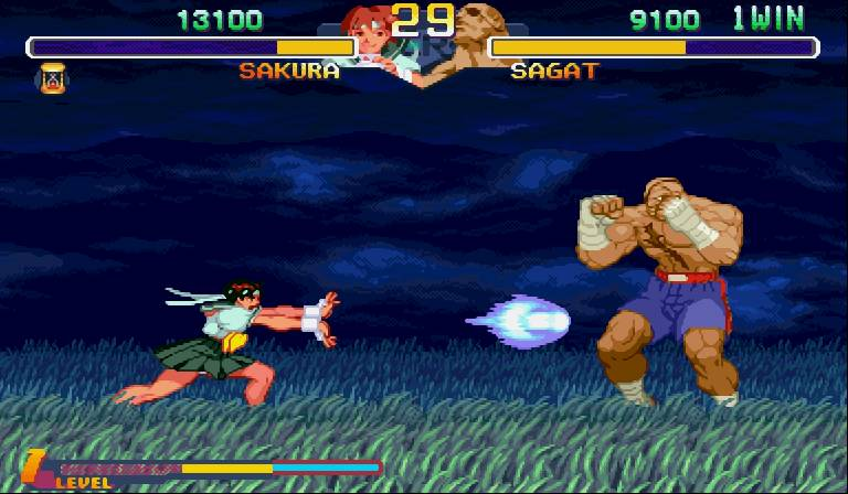 Street Fighter Alpha Screenshot