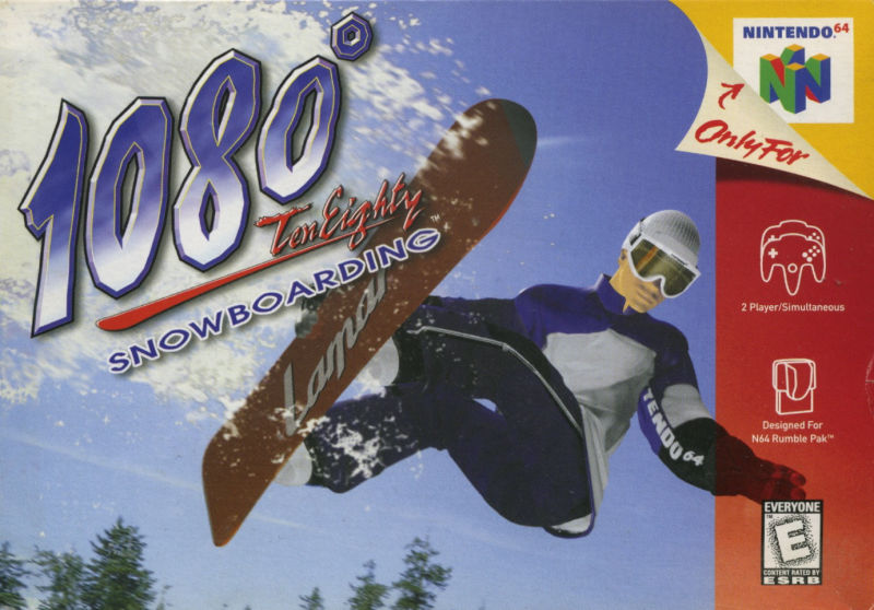 1080° Snowboarding Screenshot Cover