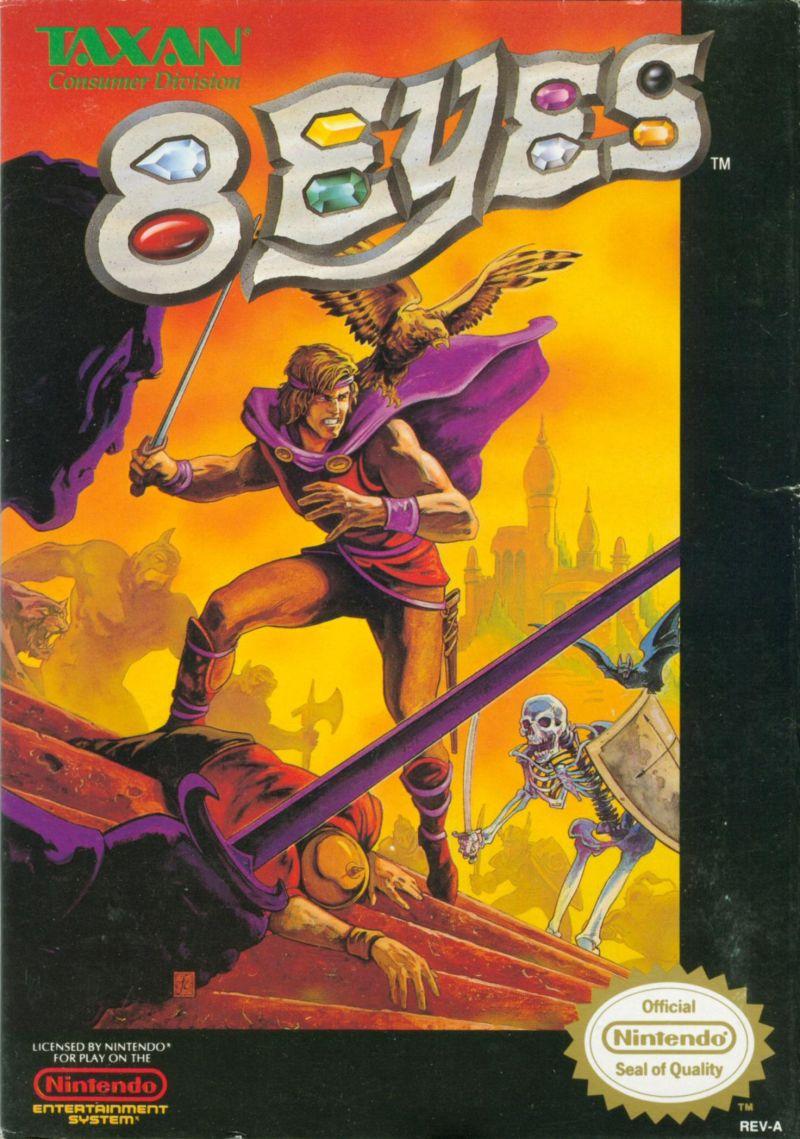 8 Eyes NES Cover