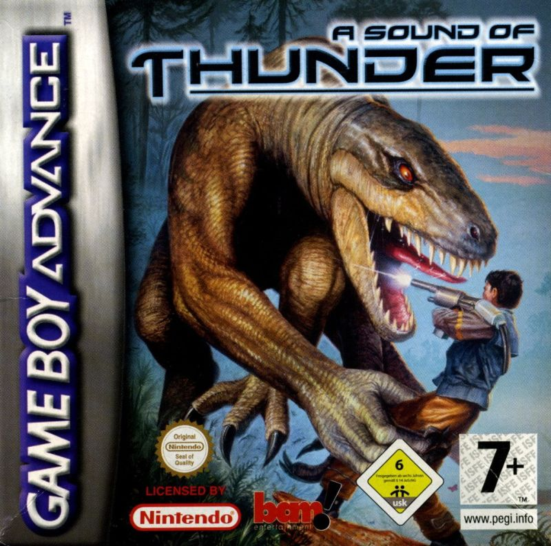 A Sound of Thunder - Game Boy Advence Cover