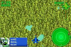 Ace Combat - Game Boy Advance Screenshot
