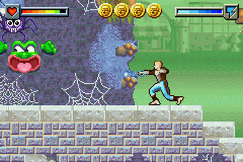 Ace Lightning - Game Boy Advance - Screenshot