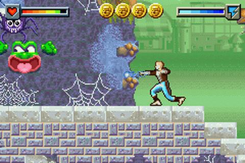 Ace Lightning - Game Boy Advance - Screenshot