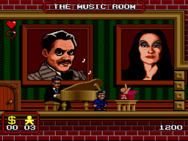 Addams Family Screenshot