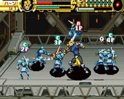 Advance Guardian Heroes Screenshot Game Boy Advance