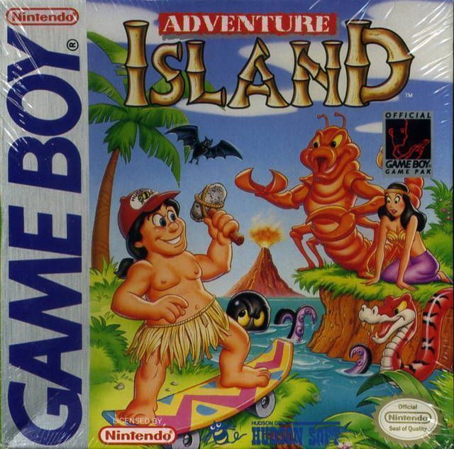 Adventure Island - Game Boy Cover2