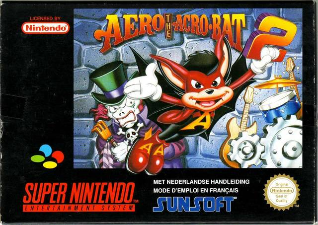 Aero the Acro-Bat 2 Cover