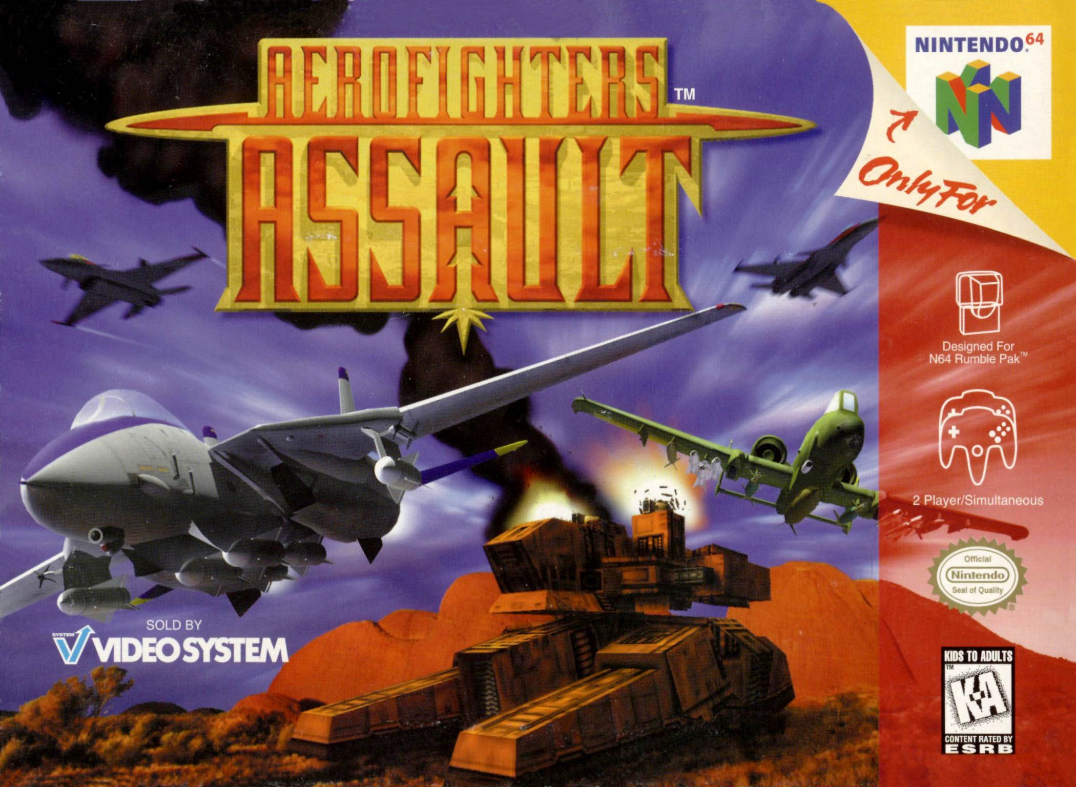 AeroFighters Assault Cover