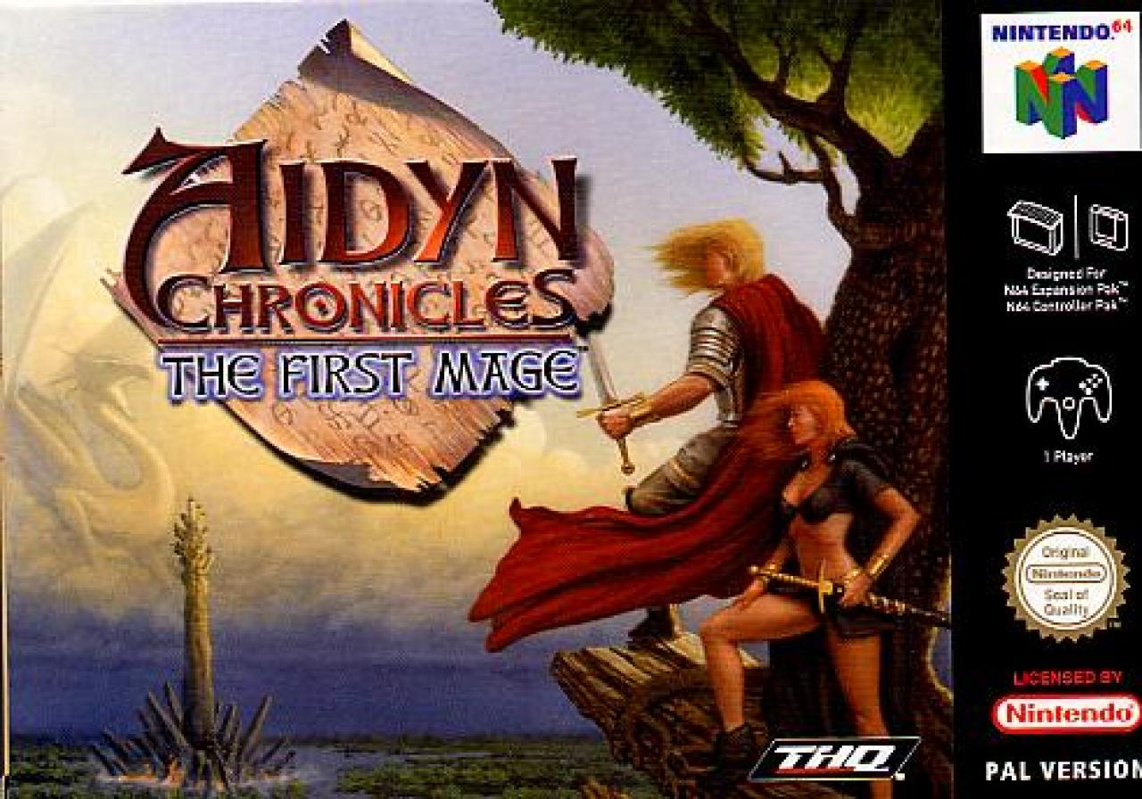 Aidyn Chronicles - The First Mage Cover