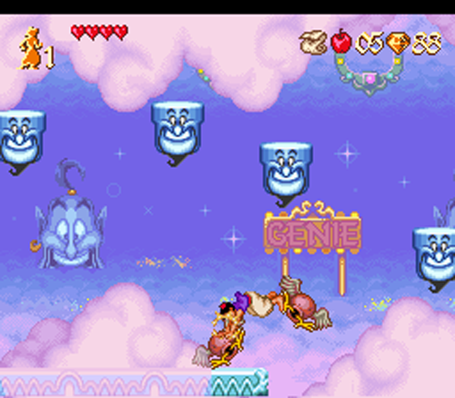Aladdin in der Wunderlampe