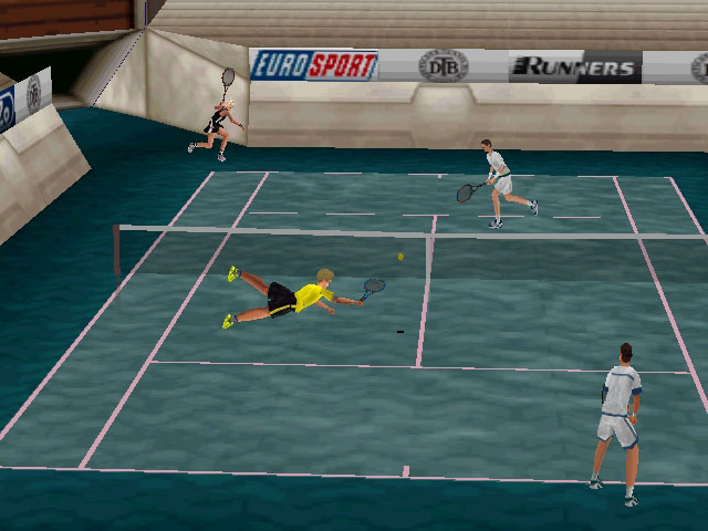 All Star Tennis 99 Screenshot