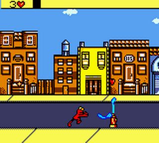 Elmo im Grummelland - Sesam Straße - GBC - Screenshot