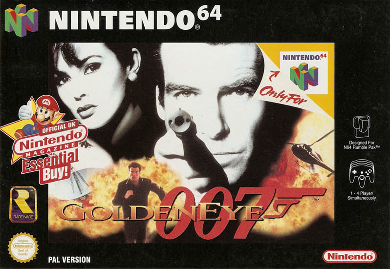 James Bond - 007 - Golden Eye Cover