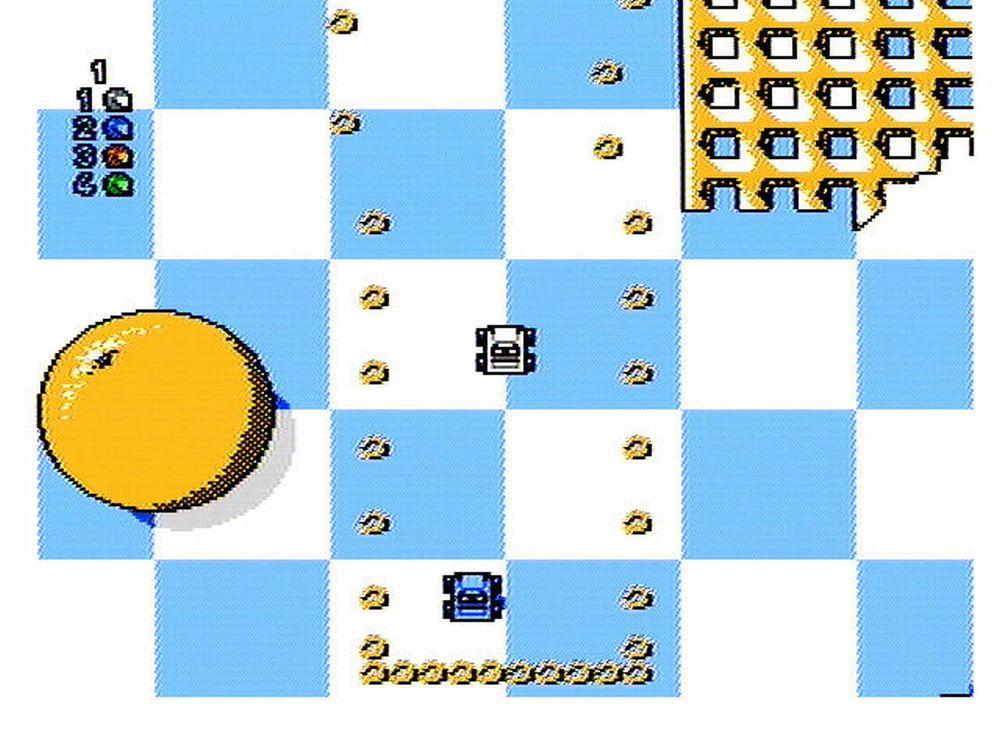 Micro Machines NES Screenshot