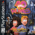 Ruff & Tumble - 40 Wings - Cover Playstation