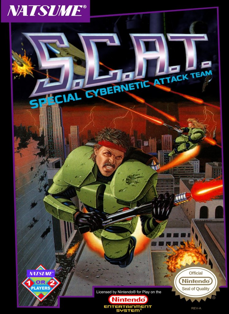 SCAT Special Cybernetic Attack Team Cover