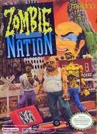 Samurai Zombie Nation Cover