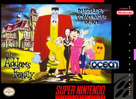 The Addams - Family Pugsley's Scavenger Hunt (SNES)