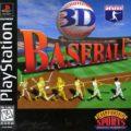 3D Baseball Cover