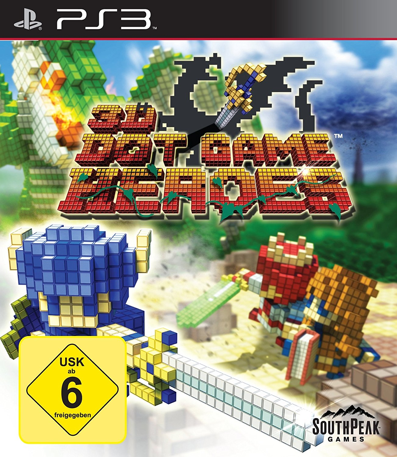 3D Dot Game Heroes Cover