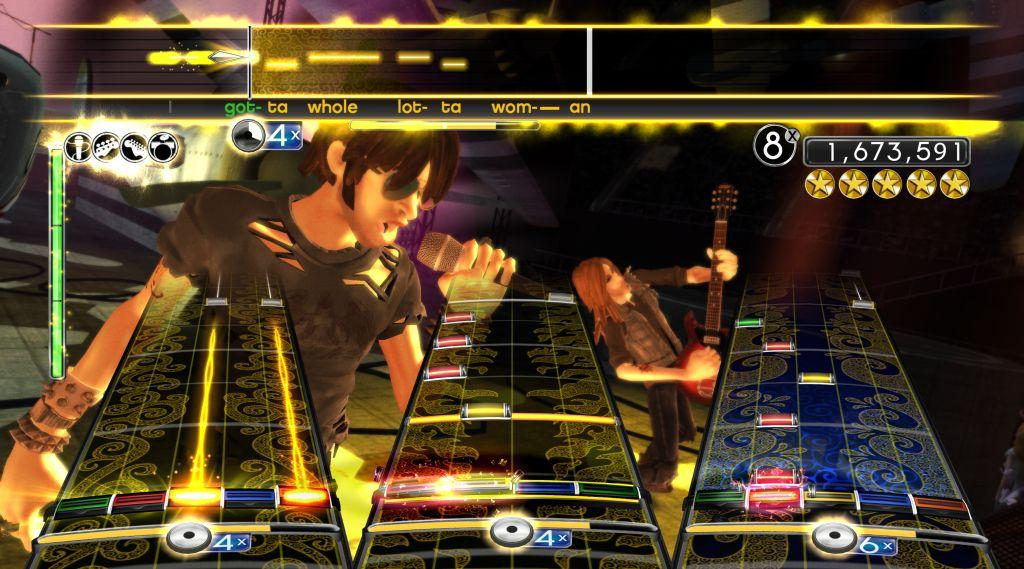 AC-DC Live Rockband Screenshot