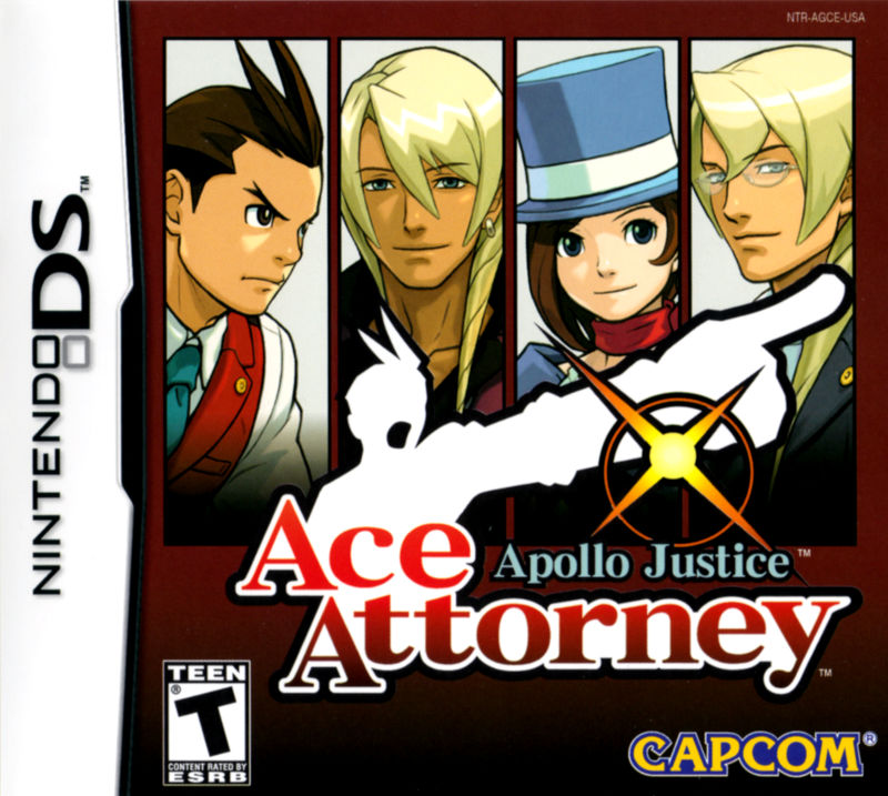 Ace Attorney - Apollo Justice Cover